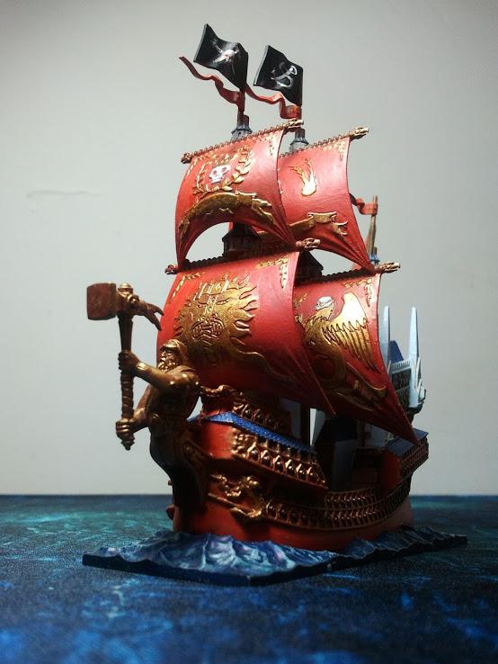 Dreadfleet, peinture Heldenhammer