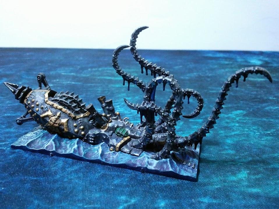 Dreadfleet Kraken noir