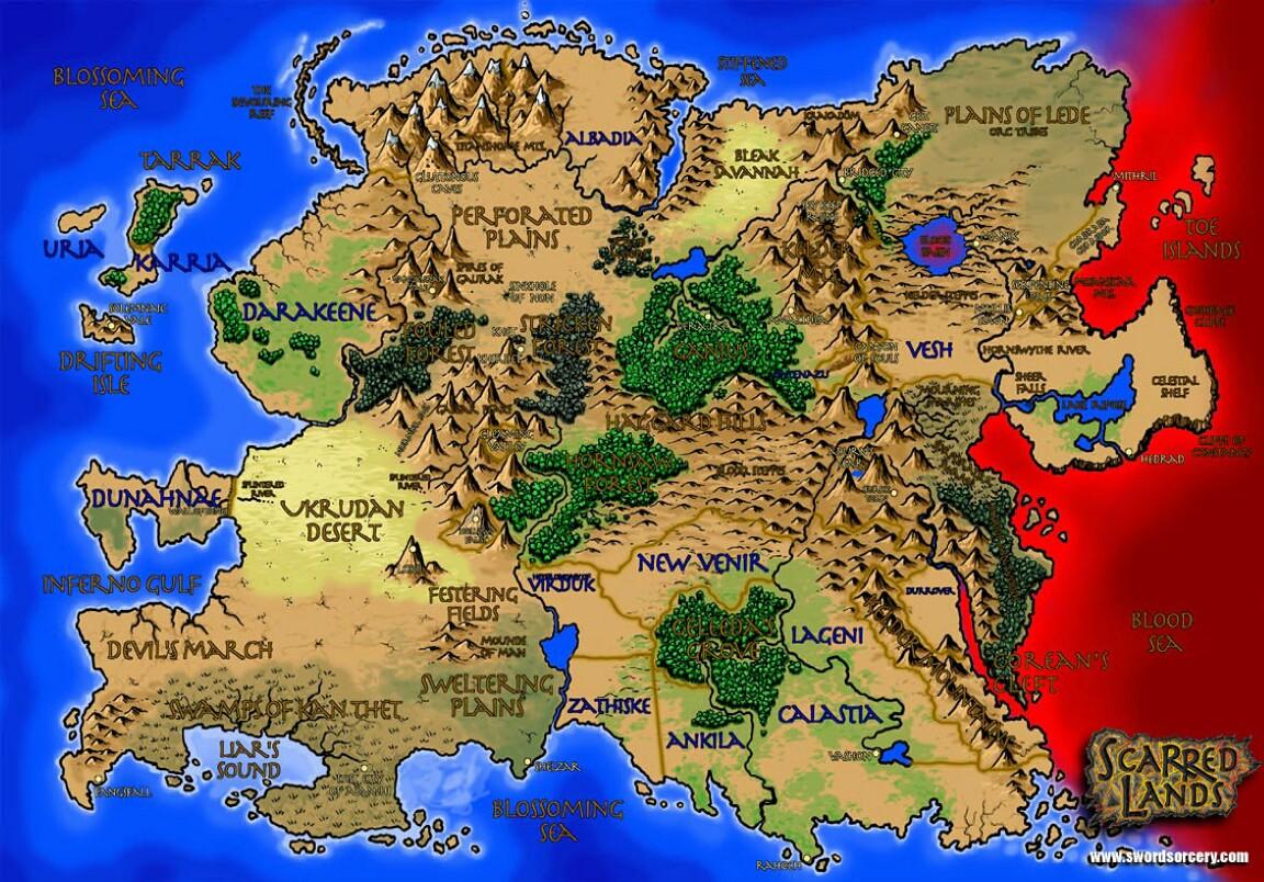 Les Terres Balafrées