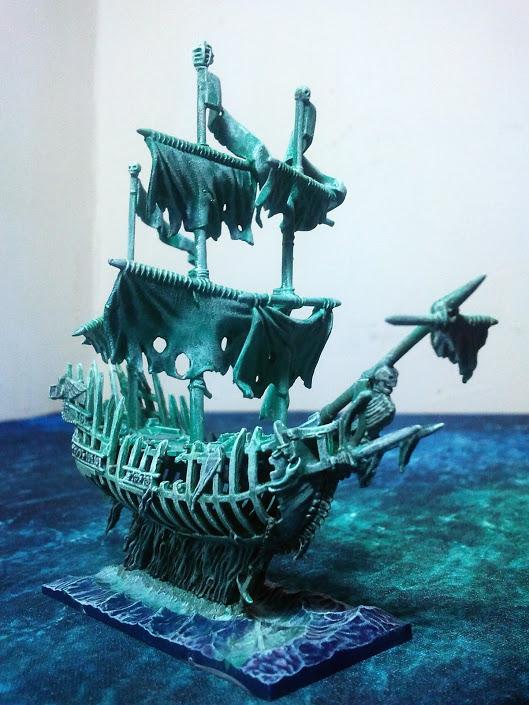 Dreadfleet, peintures du Kraken, spectre des abysses, skabrus, zandri