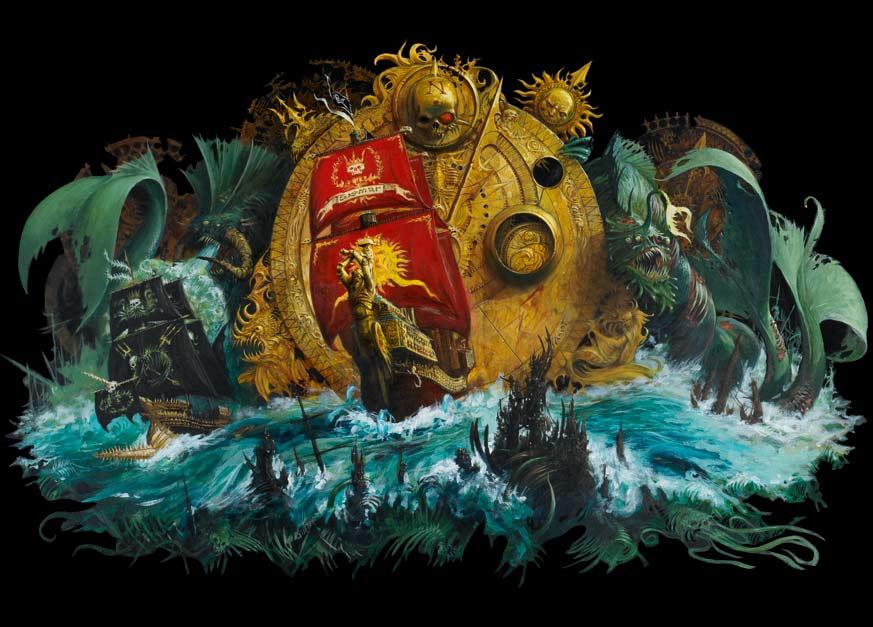 Dreadfleet, peinture décors