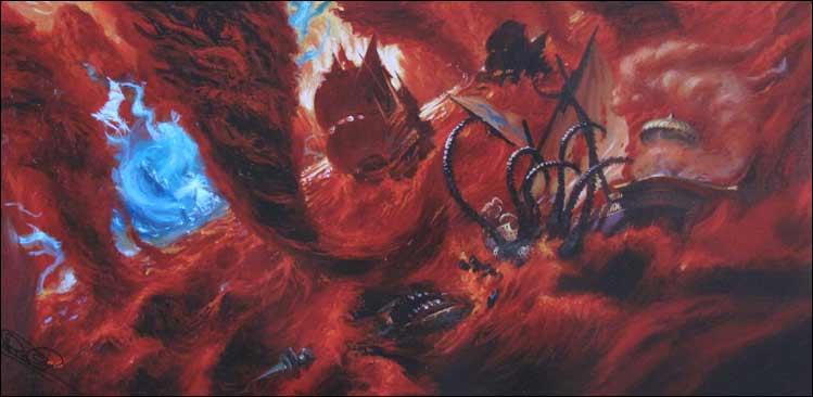 Dreadfleet, peinture décors 2